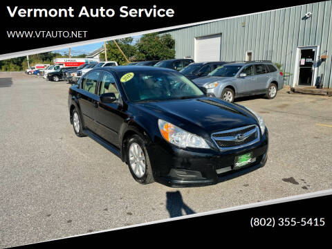 2012 Subaru Legacy for sale at Vermont Auto Service in South Burlington VT