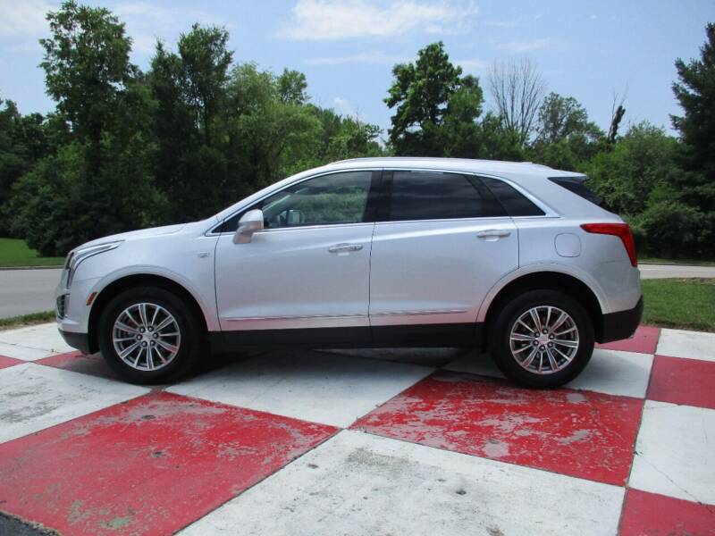2018 Cadillac XT5 for sale at TEAM ANDERSON AUTO GROUP INC in Richmond IN