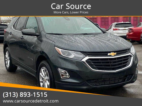 2020 Chevrolet Equinox for sale at Car Source in Detroit MI