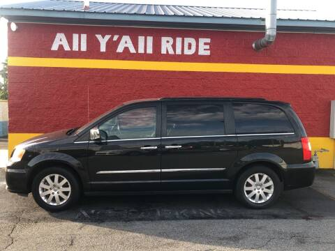 2012 Chrysler Town and Country for sale at Big Daddy's Auto in Winston-Salem NC