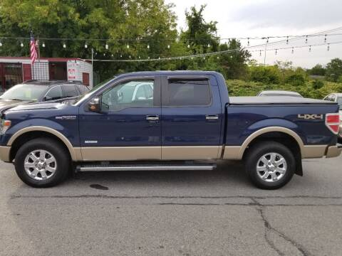 2013 Ford F-150 for sale at Howe's Auto Sales in Lowell MA