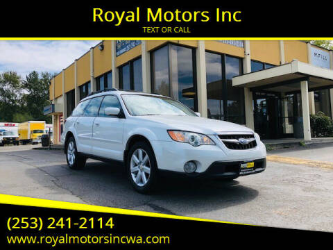 2008 Subaru Outback for sale at Royal Motors Inc in Kent WA