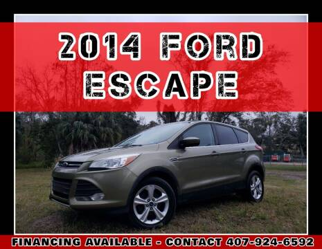 2014 Ford Escape for sale at AFFORDABLE ONE LLC in Orlando FL