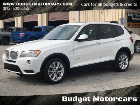 2011 BMW X3 for sale at Budget Motorcars in Tampa FL