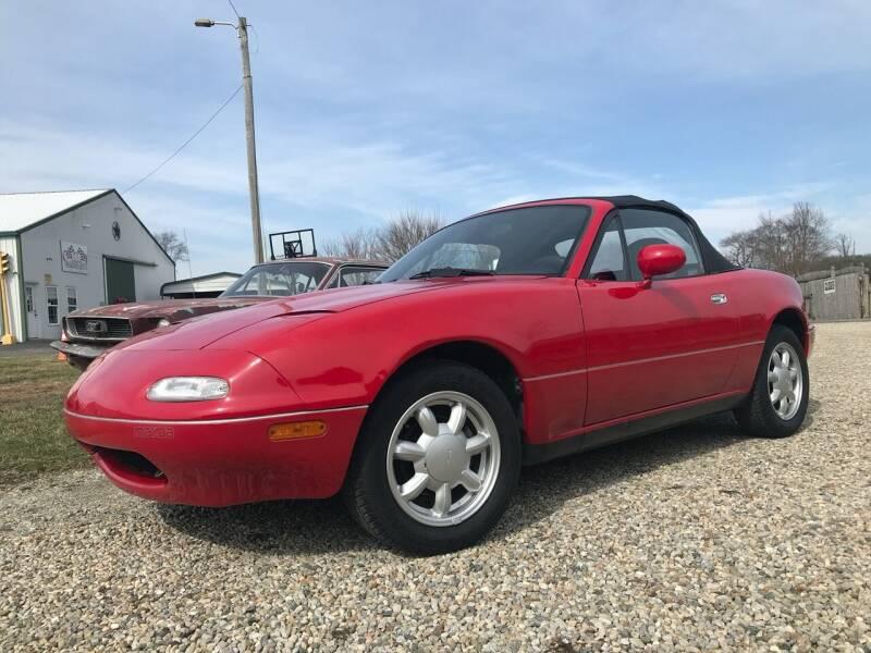 1992 Mazda MX-5 Miata for sale at 500 CLASSIC AUTO SALES in Knightstown IN