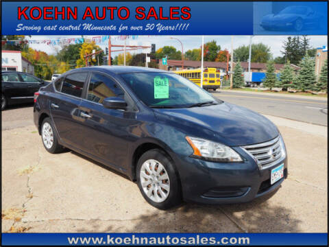 2014 Nissan Sentra for sale at Koehn Auto Sales in Lindstrom MN