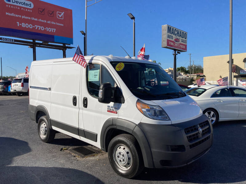 2017 RAM ProMaster Cargo for sale at MACHADO AUTO SALES in Miami FL
