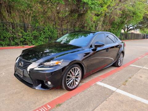 2014 Lexus IS 250 for sale at DFW Autohaus in Dallas TX