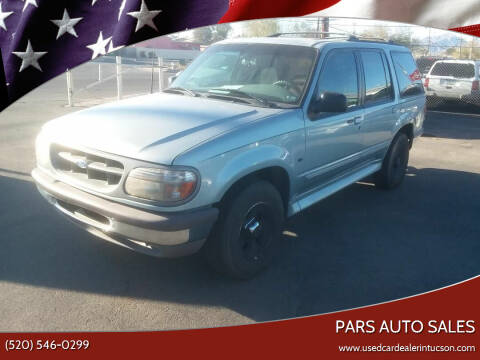 1996 Ford Explorer for sale at PARS AUTO SALES in Tucson AZ