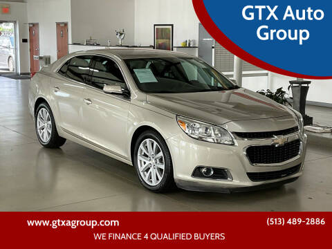 2014 Chevrolet Malibu for sale at GTX Auto Group in West Chester OH