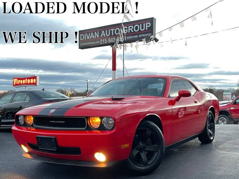 2009 Dodge Challenger for sale at Divan Auto Group in Feasterville PA