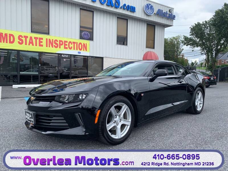 2017 Chevrolet Camaro for sale at Overlea Motors in Baltimore MD