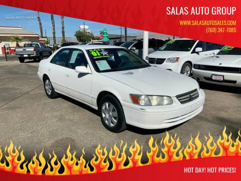 2001 Toyota Camry for sale at Salas Auto Group in Indio CA