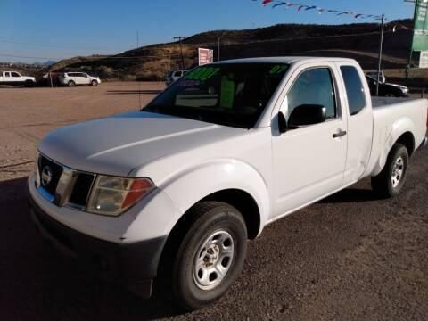 2007 Nissan Frontier for sale at Hilltop Motors in Globe AZ