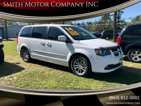 2014 Dodge Grand Caravan for sale at Smith Motor Company INC in Mc Cormick SC
