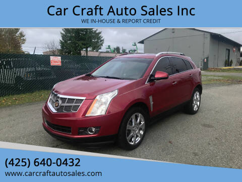 2011 Cadillac SRX for sale at Car Craft Auto Sales Inc in Lynnwood WA