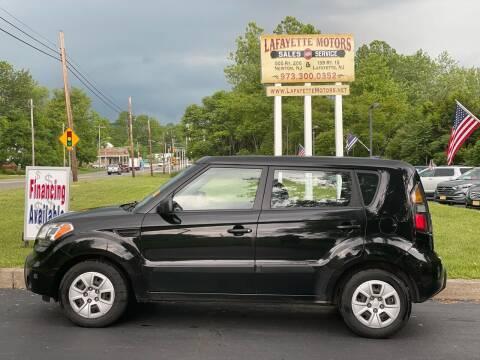 2011 Kia Soul for sale at Lafayette Motors 2 in Andover NJ