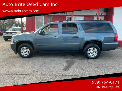 2009 Chevrolet Suburban for sale at Auto Brite Used Cars Inc in Saginaw MI