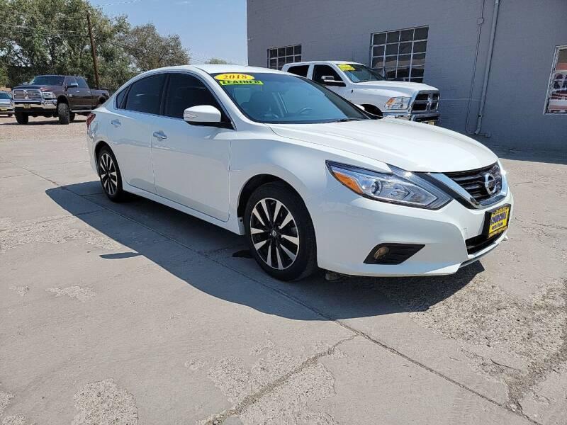 2018 Nissan Altima for sale at CHURCHILL AUTO SALES in Fallon NV