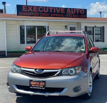 2010 Subaru Impreza for sale at Executive Auto in Winchester VA