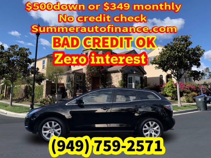2008 Mazda CX-7 for sale at SUMMER AUTO FINANCE in Costa Mesa CA