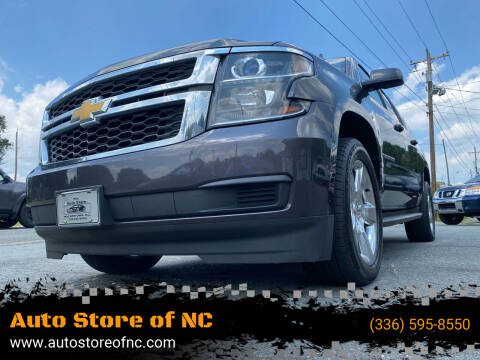 2015 Chevrolet Suburban for sale at Auto Store of NC in Walkertown NC