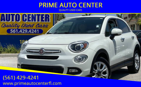 2016 FIAT 500X for sale at PRIME AUTO CENTER in Palm Springs FL