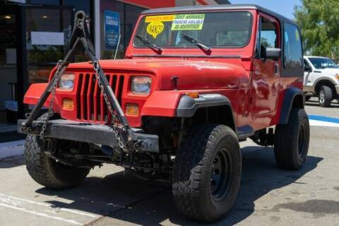 1989 Jeep Wrangler for sale at Phantom Motors in Livermore CA