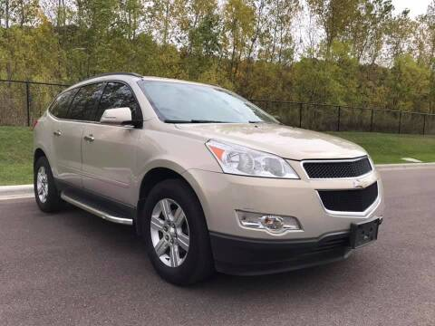 2012 Chevrolet Traverse for sale at Angies Auto Sales LLC in Newport MN