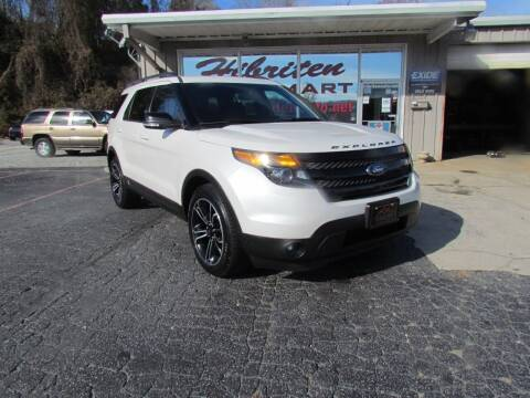 2015 Ford Explorer for sale at Hibriten Auto Mart in Lenoir NC