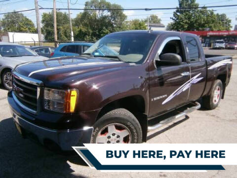 2008 GMC Sierra 1500 for sale at WESTSIDE AUTOMART INC in Cleveland OH