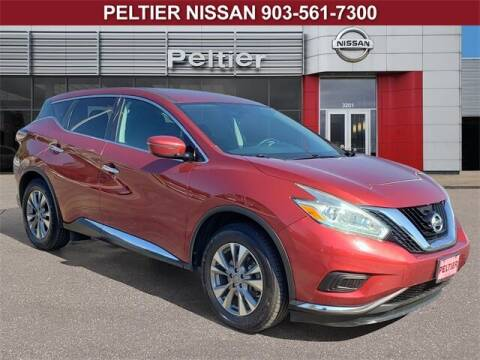 2016 Nissan Murano for sale at TEX TYLER Autos Cars Trucks SUV Sales in Tyler TX