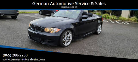 2011 BMW 1 Series for sale at German Automotive Service & Sales in Knoxville TN