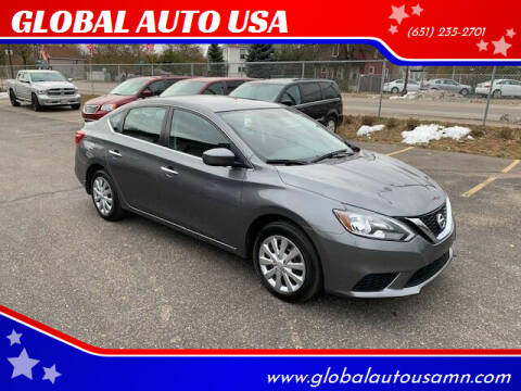 2017 Nissan Sentra for sale at GLOBAL AUTO USA in Saint Paul MN