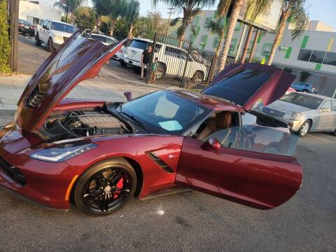 2016 Chevrolet Corvette for sale at GENERATION 1 MOTORSPORTS #1 in Los Angeles CA