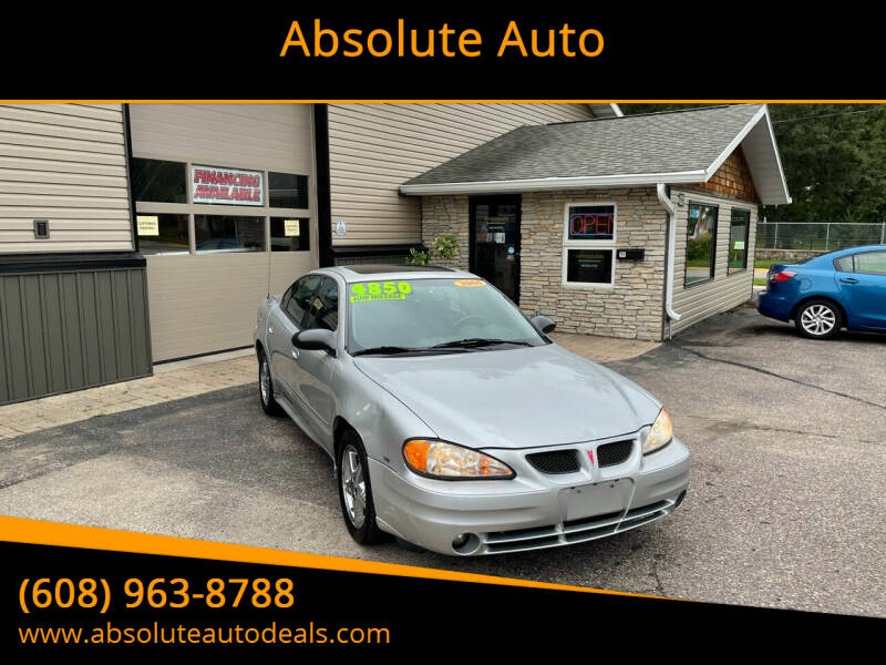 2004 Pontiac Grand Am for sale at Absolute Auto in Baraboo WI