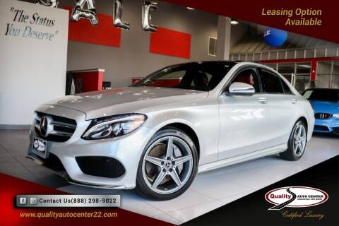 2018 Mercedes-Benz C-Class for sale at Quality Auto Center in Springfield NJ