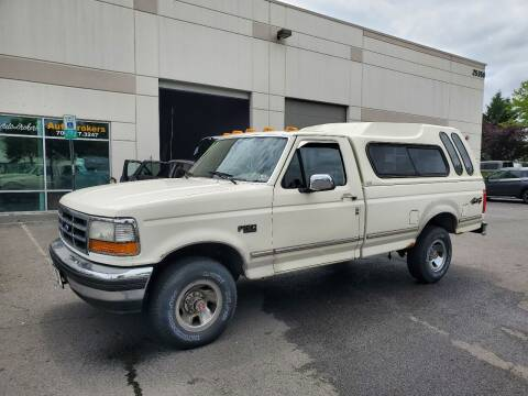 1993 Ford F-150 for sale at M & M Auto Brokers in Chantilly VA