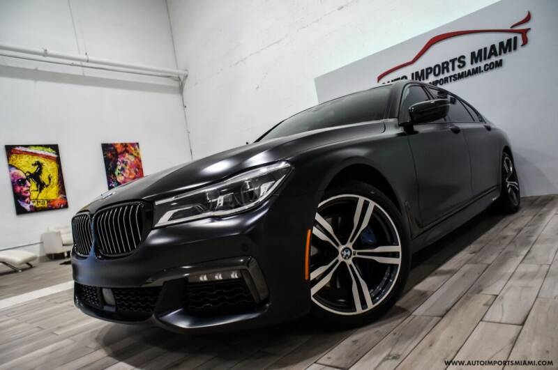 2018 BMW 7 Series for sale at AUTO IMPORTS MIAMI in Fort Lauderdale FL