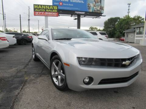 2011 Chevrolet Camaro for sale at Hanna's Auto Sales in Indianapolis IN