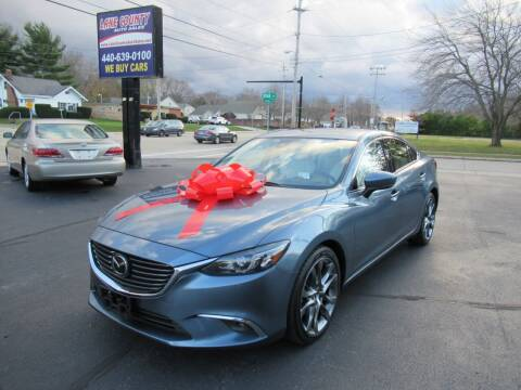 2017 Mazda MAZDA6 for sale at Lake County Auto Sales in Painesville OH