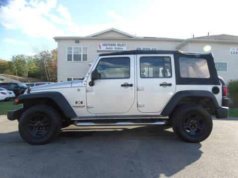 2009 Jeep Wrangler Unlimited for sale at SOUTHERN SELECT AUTO SALES in Medina OH