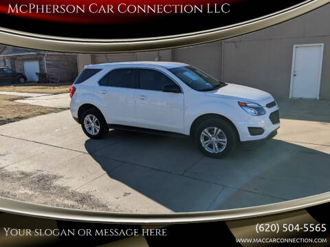 2017 Chevrolet Equinox for sale at McPherson Car Connection LLC in Mcpherson KS