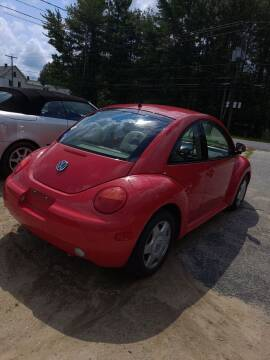 2000 Volkswagen New Beetle for sale at Lewis Auto Sales in Lisbon ME