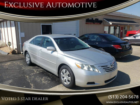 2009 Toyota Camry for sale at Exclusive Automotive in West Chester OH