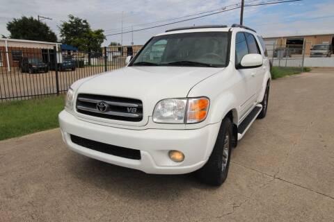 2004 Toyota Sequoia for sale at Highland Autoplex, LLC in Dallas TX