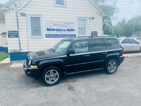 2009 Jeep Patriot for sale at New Wave Auto of Vineland in Vineland NJ