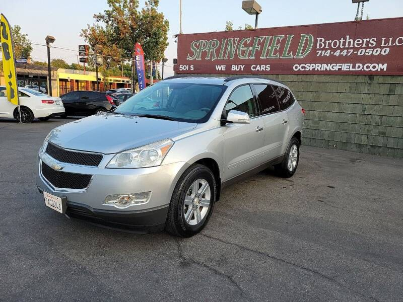 2011 Chevrolet Traverse for sale at SPRINGFIELD BROTHERS LLC in Fullerton CA
