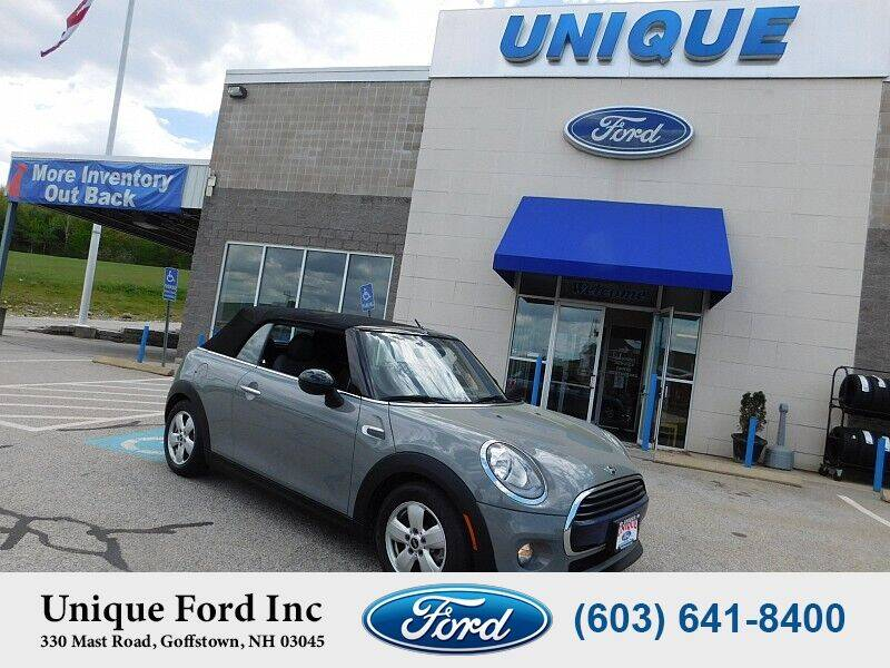 2017 MINI Convertible for sale at Unique Motors of Chicopee - Unique Ford in Goffstown NH