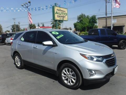 2018 Chevrolet Equinox for sale at HILMAR AUTO DEPOT INC. in Hilmar CA